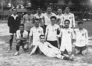 L'Alessandria scesa in campo contro lo Spezia il giorno 11/09/1921